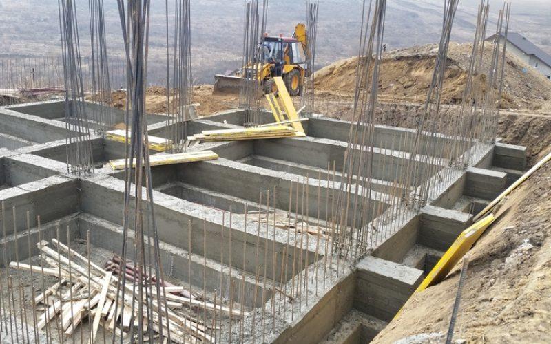 Lucrările de construcții din Bistrița au crescut cu 46% în doi ani
