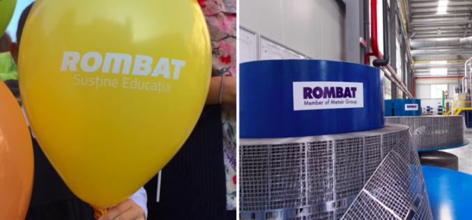 CSR:  ROMBAT a donat dulăpioare elevilor de la Școala Generală 3. Cine îi urmează exemplul?
