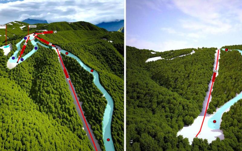 Tensiuni între partenerii pârtiei de schi de la Colibița, un proiect de 15 milioane euro
