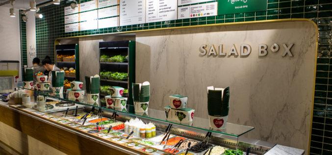 Salad Box vrea restaurant în Retail Park Bistrița
