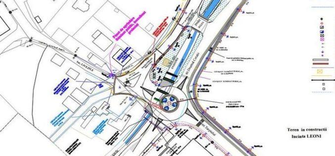 DIMEX 2000 Company și-a adjudecat marele sens giratoriu din intersecția Tărpiului cu Cetății