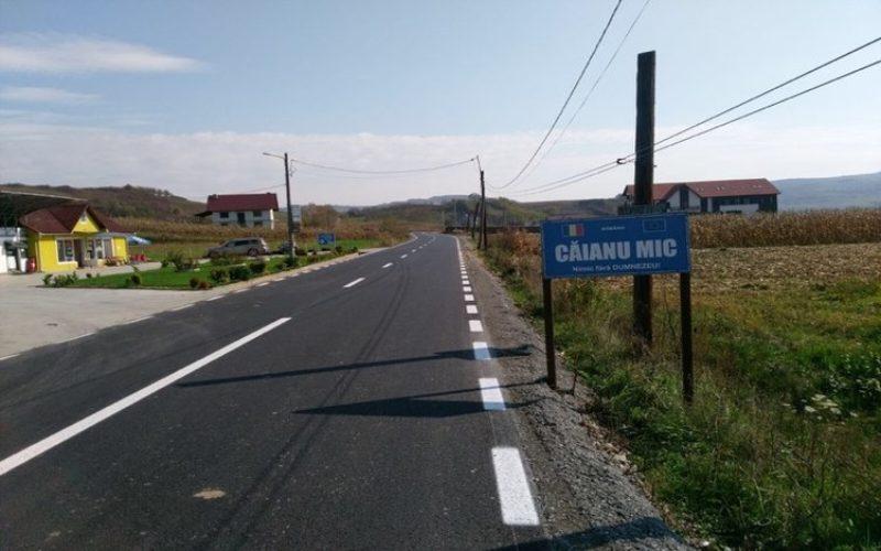 Comuna Căianu Mic a lansat licitația pentru modernizarea străzilor. Buget: 4,2 milioane lei