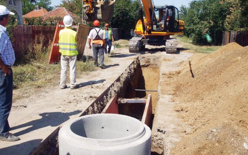 Licitație de 3 milioane euro pentru apa și canalizarea comunei ȘIEUȚ