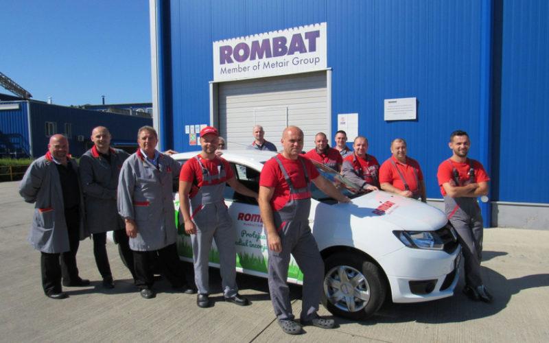 ROMBAT prezintă la Bistrița prima Dacia LOGAN 100% electrică