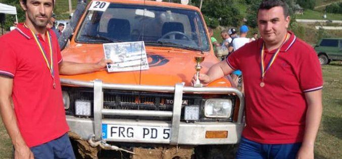 Primarul din Căianu Mic, pe podium la OFF-ROAD Țibleș, la volanul unei Toyota 4×4