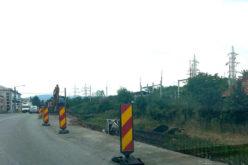 DIMEX a pornit lucrările la marele giratoriu de pe vechea Centură, lângă Leoni