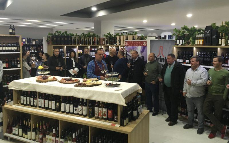 Faimoasele vinuri de CRICOVA (Rep. Moldova) își croiesc loc sigur în piața bistrițeană