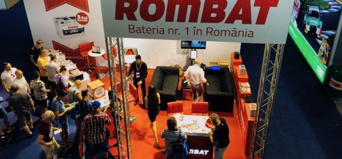 ROMBAT, stand impresionant la expoziția ATBS București, cu peste 35.000 de vizitatori