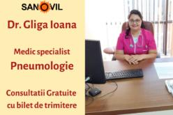 Achiziție nouă pentru Sanovil: medic specialist pneumolog