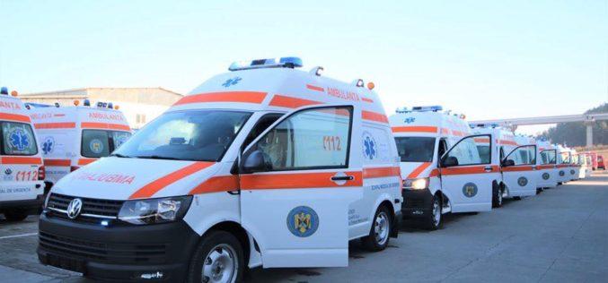 Autospeciale de 2 mil. lei pentru Serviciul Județean de Ambulanță