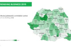 În ultimii 10 ani, numărul afacerilor din Bistrița-N a crescut cu 55%, locul 3 pe țară