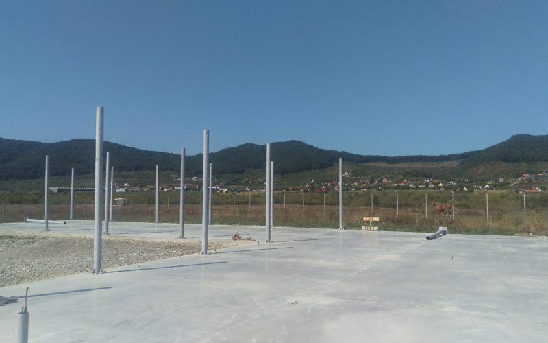 Geto-Dacia, prima firmă care a început construcțiile în Parcul Industrial