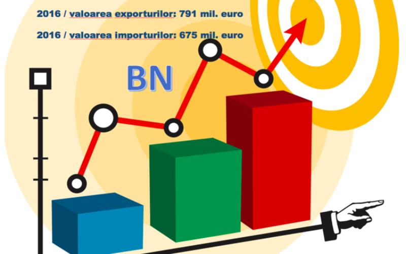 Bistrița-Năsăud exportă anual cu 116 mil. euro mai mult decât importă