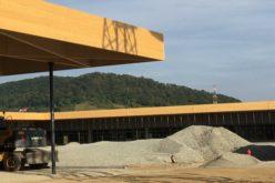 Cum arată micul retail-park de lângă Kaufland, înainte cu o lună de inaugurare?