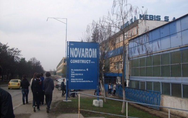 Trei hale ale NOVAROM (parte din fosta MEBIS) scoase la vânzare de ANAF, pentru 4,8 mil. lei + TVA
