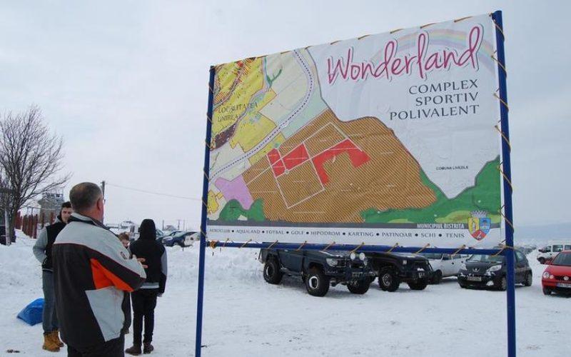Wonderland merge, implacabil, înainte. Primăria a lansat licitația de 25 mil. lei pentru drum de acces și utilități