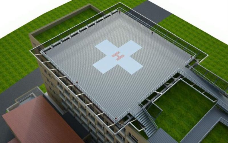 După ce va avea heliport, Spitalul Județean va prelua bolnavi și de la alte spitale