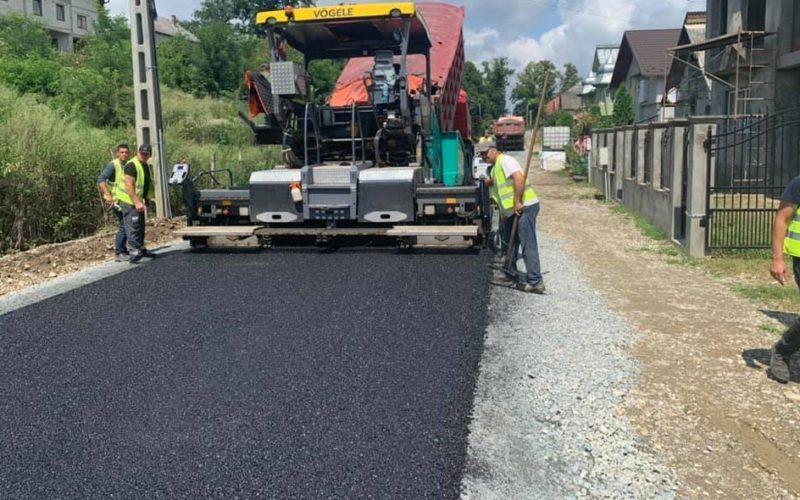 LDP asfaltează ultimele străzi de pământ din Căianu Mic