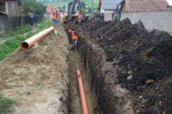Proiectul de extindere a rețelei de apă și canal în toată comuna Prundu Bârgăului, aproape de final