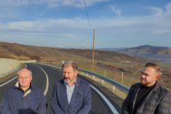 Drumul de la Matei la Strugureni, recepționat. O lucrare de 15 mil. lei, marca ÎNDEMÂNAREA