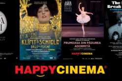 Proiecții speciale la Happy Cinema Bistrița în perioada următoare