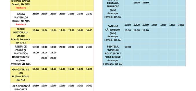 Programul filmelor la Happy Cinema în perioada 14 – 20 februarie