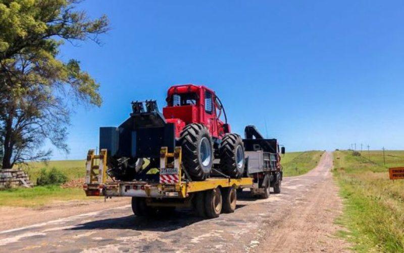 Primul TAF 690 PE fabricat de IRUM Reghin a ajuns în Uruguay,