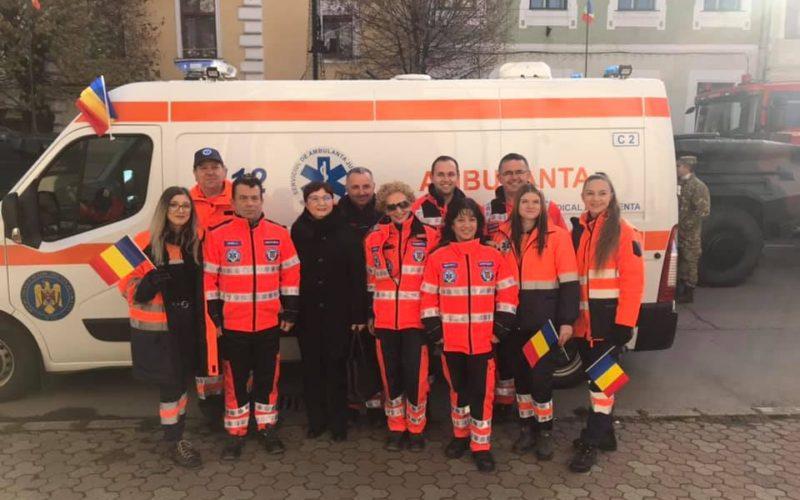Serviciul Județean de Ambulanță Bistrița-Năsăud caută voluntari