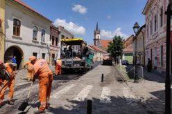 Ce străzi din Bistrița intră de astăzi în reabilitare