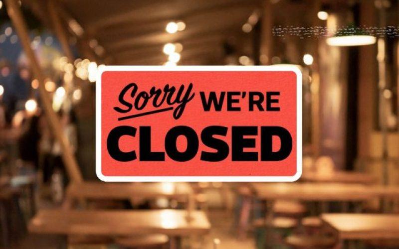 Se închid restaurantele, cafenelele și cluburile!