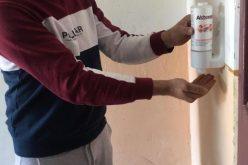 Primăria Bistrița împarte 1.000 de dozatoare cu dezinfectant pentru mâini