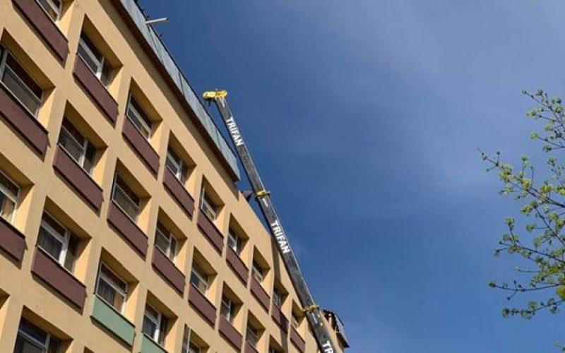 În ce stadiu sunt lucrările de amenajare a heliportului de pe Spitalul Județean