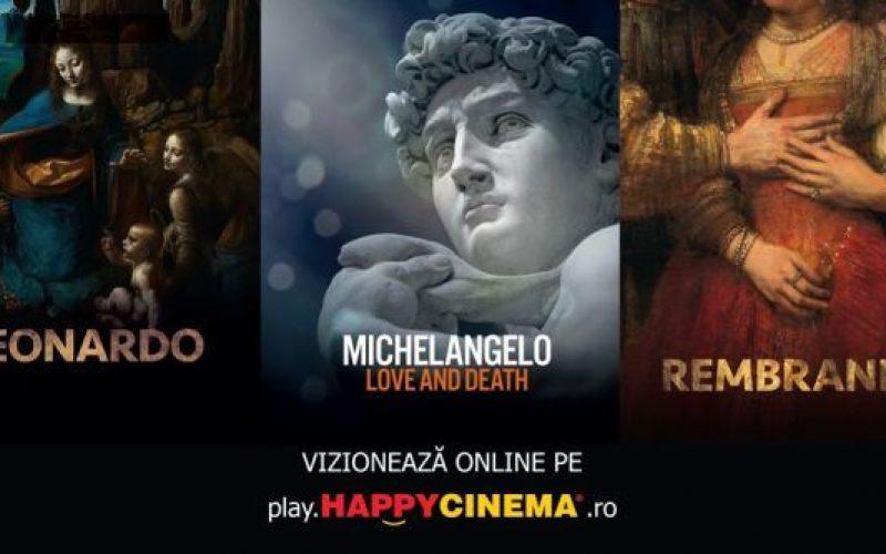 HAPPYCINEMA își mută premierele anulate de COVID – 19 în online