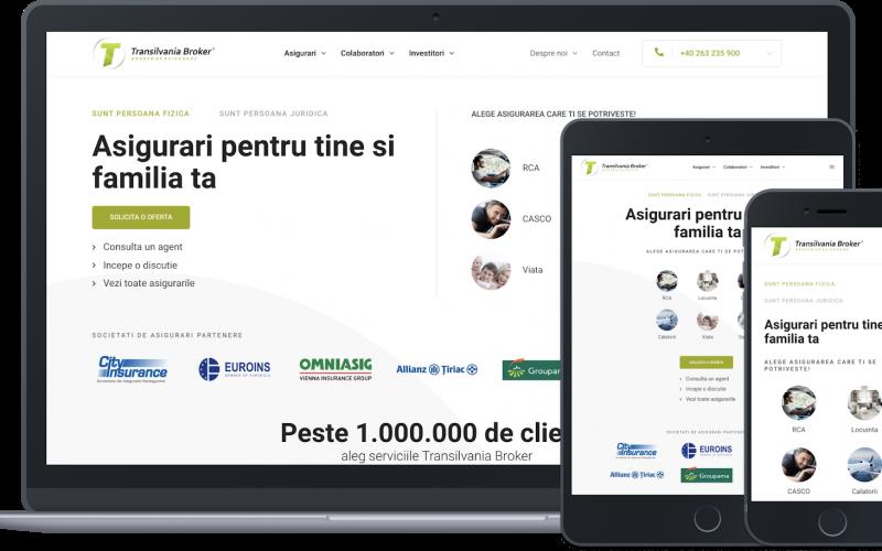 Compania bistrițeană Transilvania Broker inovează și lansează o platformă online pentru asigurări