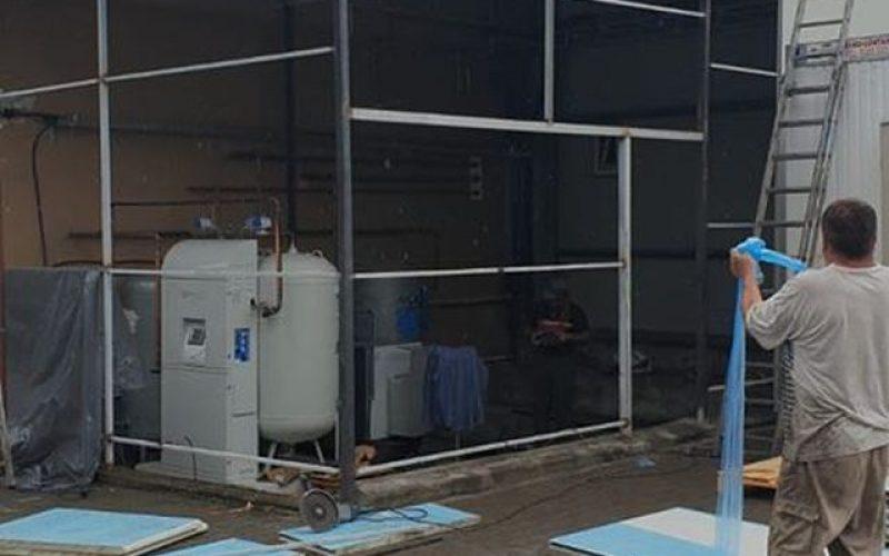 Spitalul Județean are stație nouă pentru producerea oxigenului medicinal