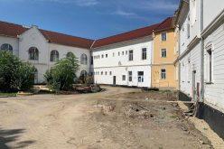 Cum arată spitalul de pe Alba Iulia în plin șantier de reabilitare termică