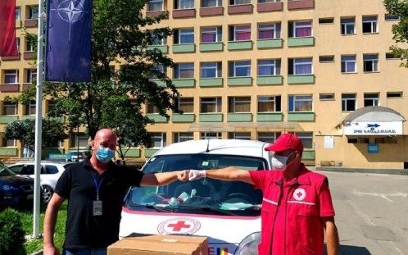 Cu sprijinul celor de la DIMEX, Spitalul Județean a primit 4.000 de măști de protecție