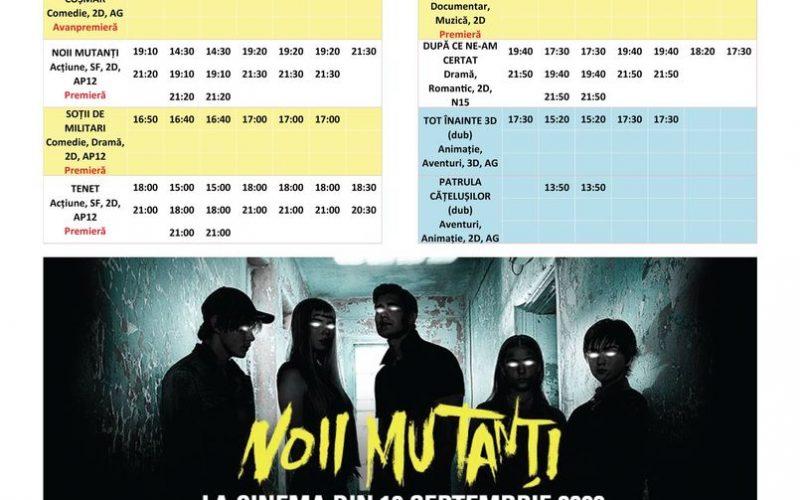 Programul filmelor la Happy Cinema în perioada 18-24 septembrie