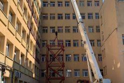 În ce stadiu sunt lucrările la liftul ce duce la heliport