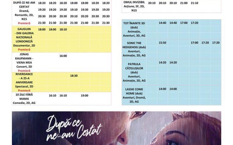 Programul filmelor la Happy Cinema în perioada 11-17 septembrie
