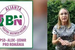 Gabriela Szabo susține Alianța pentru Bistrița-Năsăud