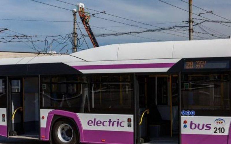 Ce firmă a câștigat licitația pentru livrarea autobuzelor electrice la Bistrița?