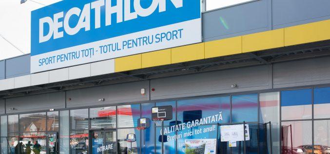 Decathlon, cu magazin și în Bistrița, devine partener oficial al NBA