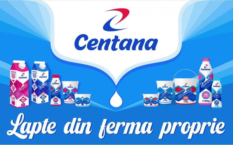 Compania CENTANA COM a demarat producția de lactate în fabrica din Parcul Industrial Bistrița. Poftiți în magazine!
