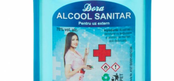 Bistrițenii de la ECOSERV, care fac spirtul sanitar DORA, au explodat în 2020: venituri mai mari cu 200%
