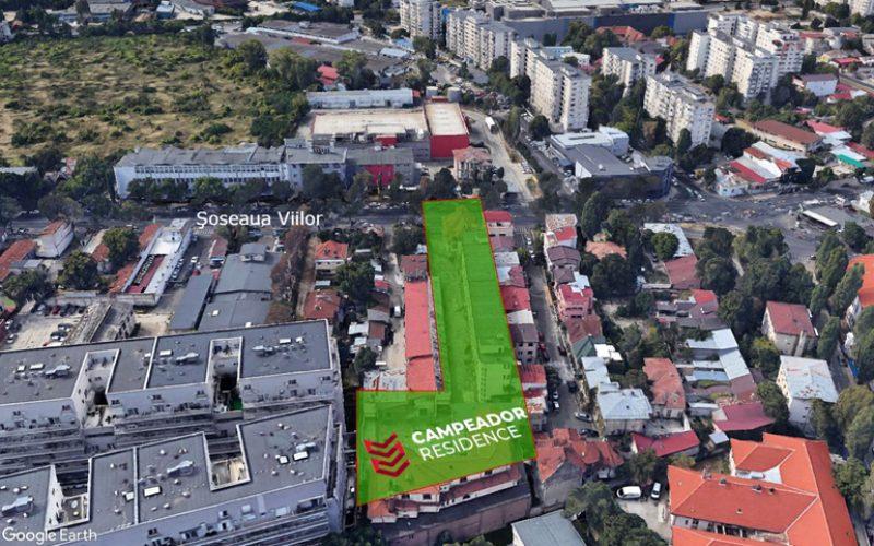 CAMPEADOR construiește și în București 100 de apartamente, pe un teren cumpărat de la KANDIA