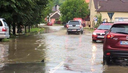 Canalizarea pluvială pe strada Mihai Viteazu iese la licitație