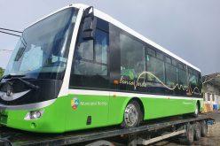 Direct din Cehia, a sosit primul autobuz electric pentru Linia Verde