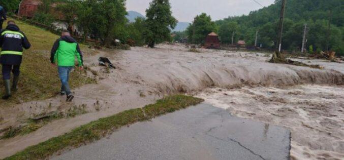 Bistrița-N, în lista județelor ce primesc bani de la Guvern în urma calamităților naturale din luna iunie